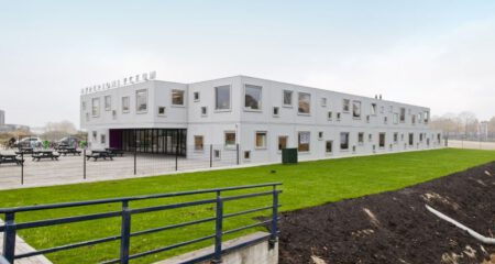 Nieuws Week van de circulaire economie terugblik op een schoolvoorbeeld van circulariteit onderwijs schoolgebouw