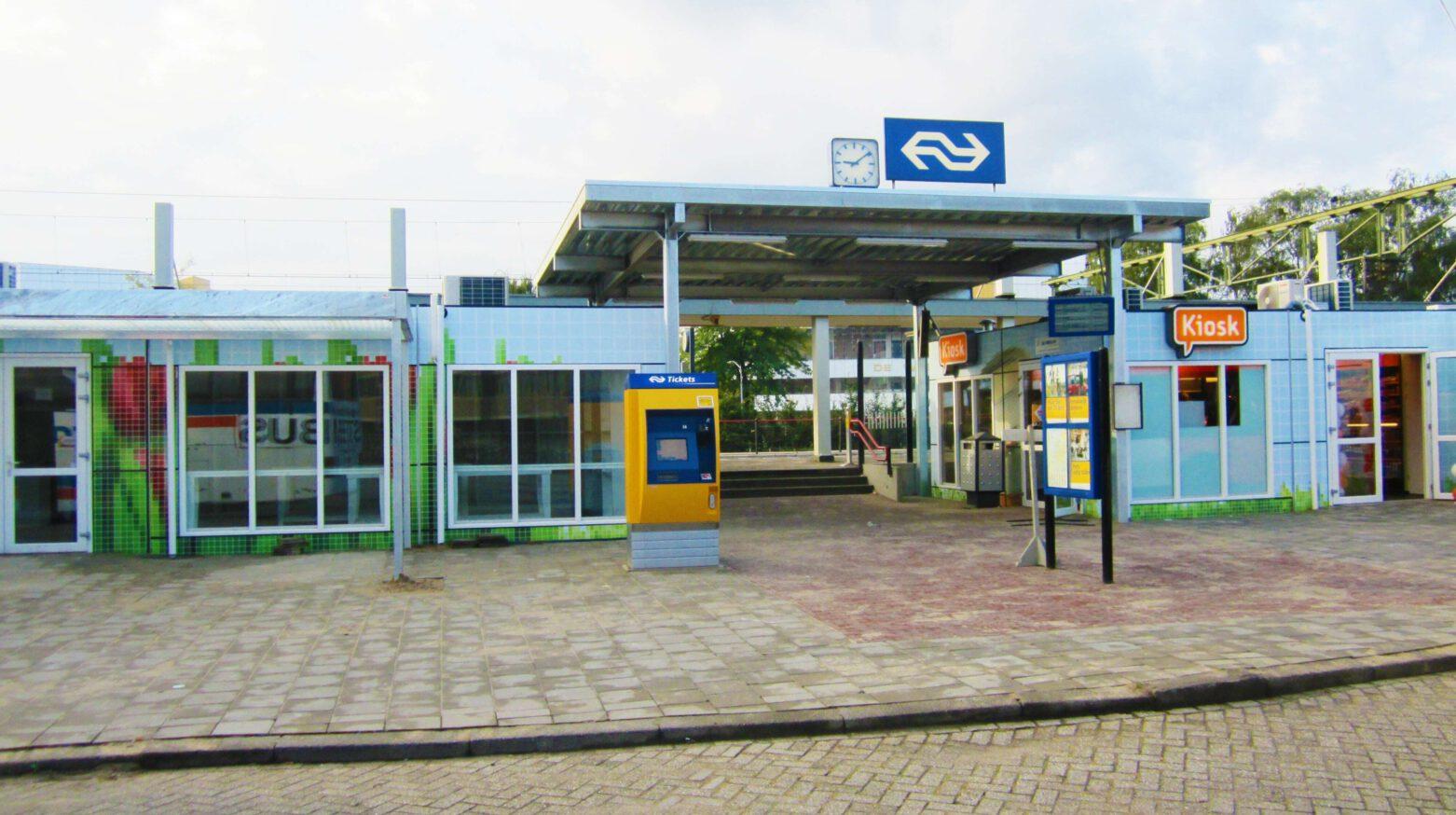 NS station 0636 bewerkt